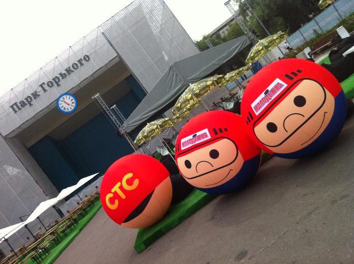 Большие шары и мячи для оформления, Большие шары и мячи для рекламы